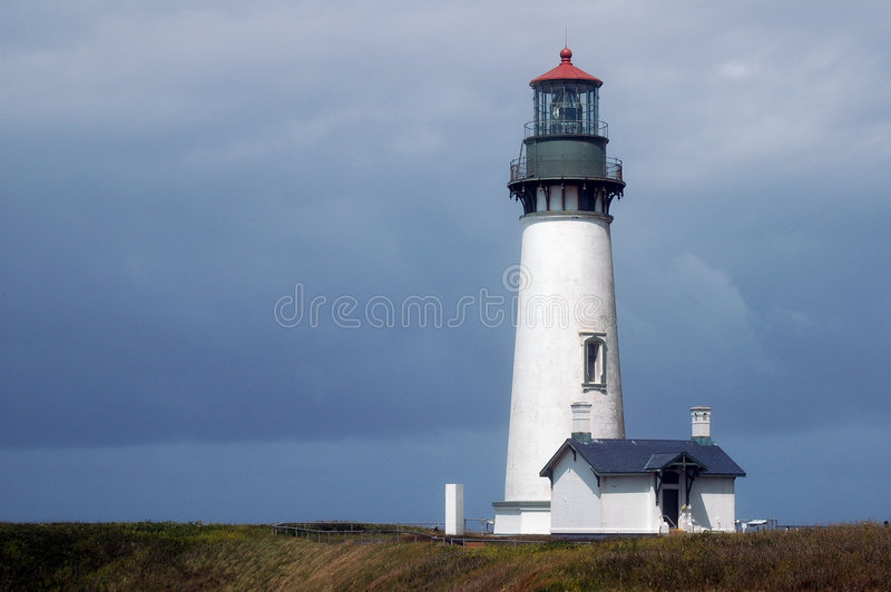 Oregon-Leuchtturm stockfotografie