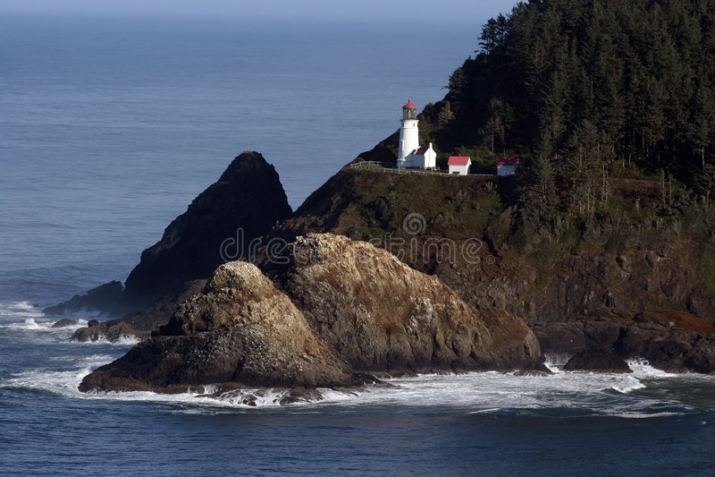 Oregon Lighthouse. royalty free stock photography