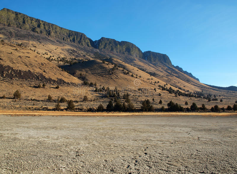 Oregon Mesa royaltyfri fotografi