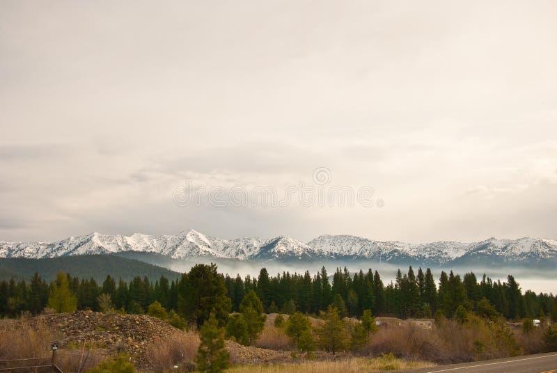 Oregon mountains. Mountains in Oregon near Baker City stock photos