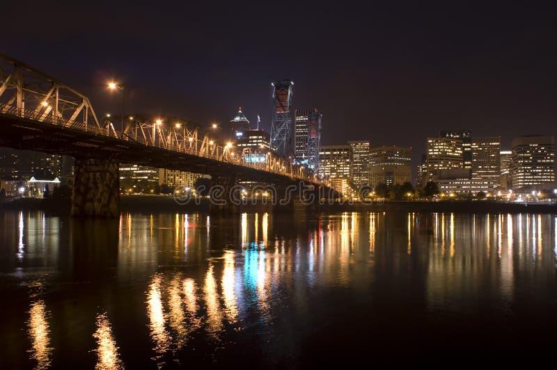 oregon panorama Portland zdjęcie royalty free