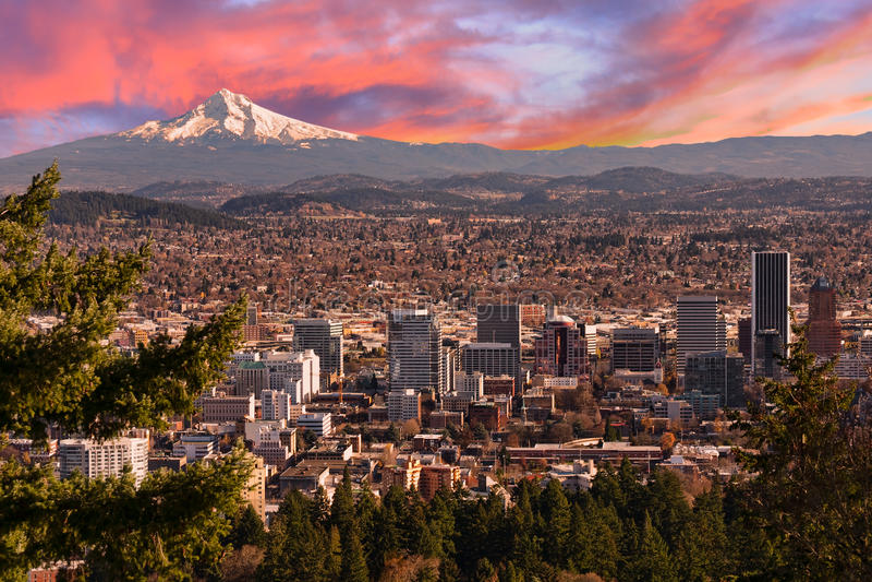 oregon piękny dukt Portland obrazy stock