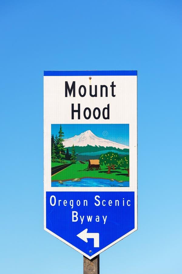 Oregon scenisk Byway royaltyfria bilder