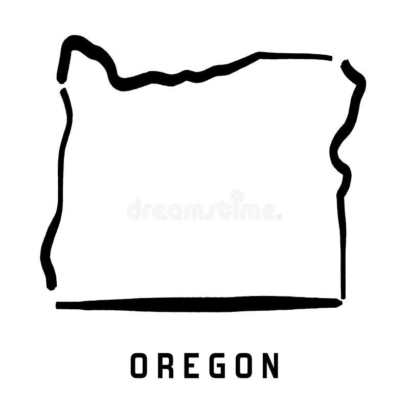 Oregon stock illustration