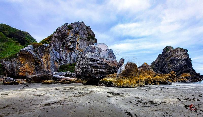 Oregon wybrzeża spokój zdjęcia stock