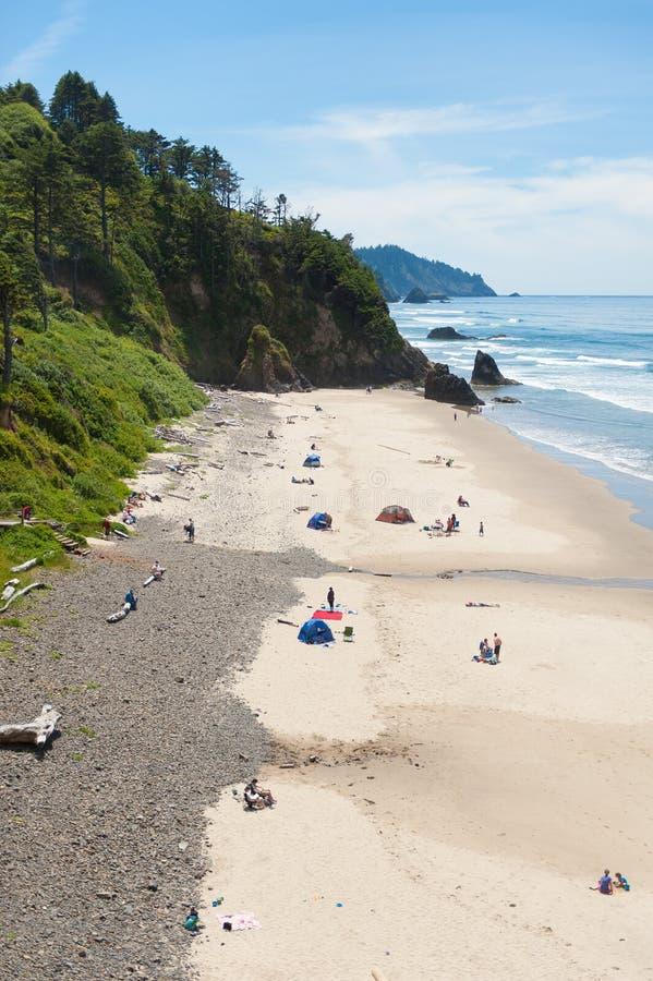 Oregon wybrzeże obraz stock