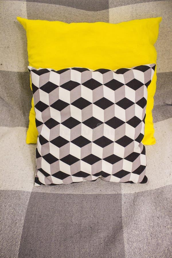 oreillers colorés photo libre de droits