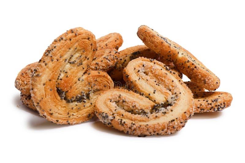 Oreilles de pâte feuilletée photo stock