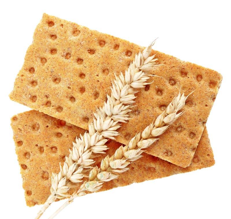 Oreilles de pain complet et de blé photos libres de droits