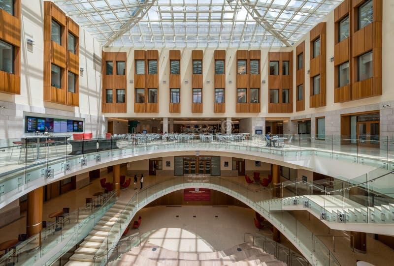 Oreillette de Washington University Business photo libre de droits