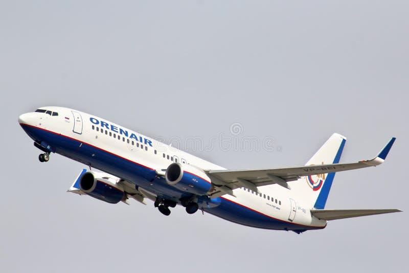 Orenair Boeing 737 arkivfoton