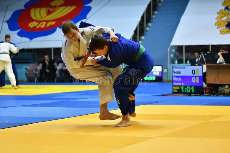 Download Orenburg Ryssland - 21 Oktober 2017: Pojkar Konkurrerar I Judon Redaktionell Arkivfoto - Bild av actinium, turnering: 106827328