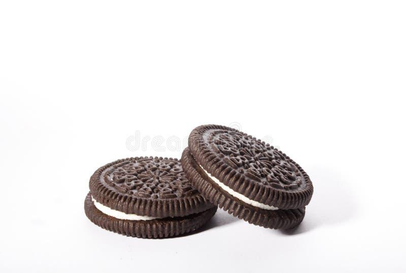 oreo μπισκότων στοκ φωτογραφίες
