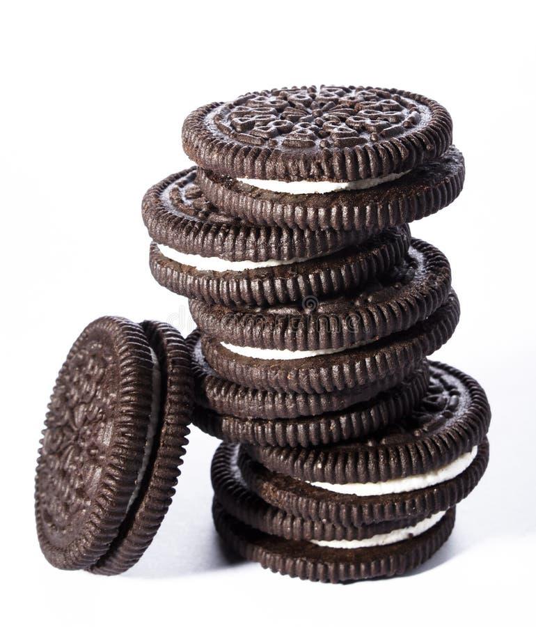 oreo μπισκότων στοκ εικόνα με δικαίωμα ελεύθερης χρήσης