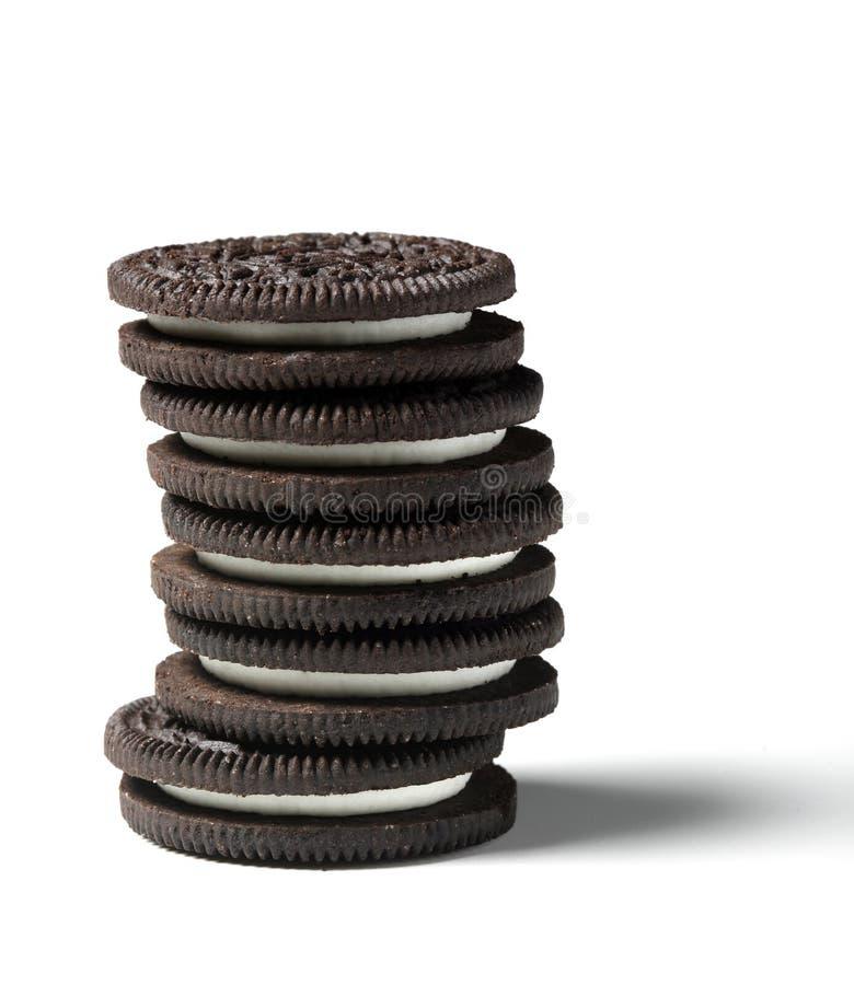 oreo μπισκότων στοκ φωτογραφία