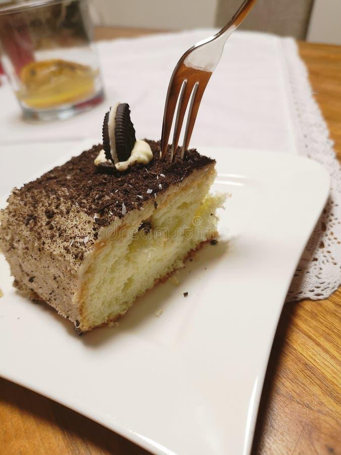 Oreo-Kuchen lizenzfreie stockbilder