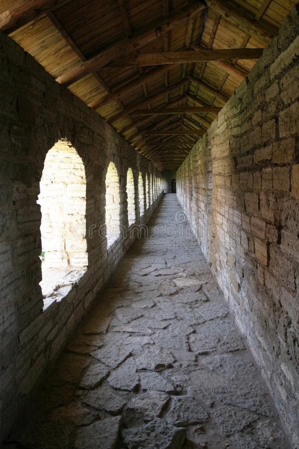 Oreshek castle stock photos