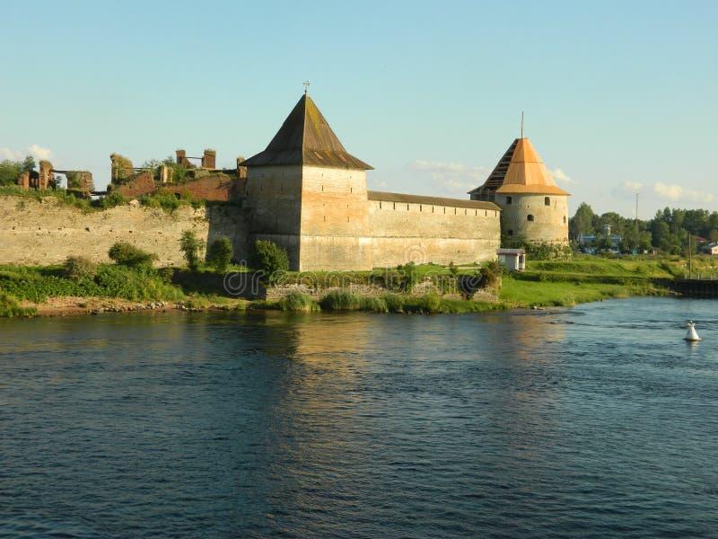 Oreshek fortress royalty free stock photos