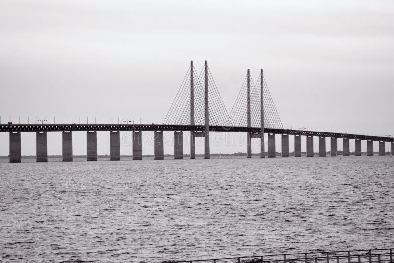 oresund моста стоковое фото