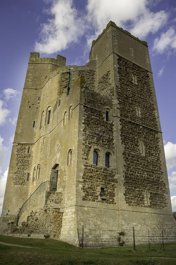 Orford-Schloss lizenzfreie stockbilder