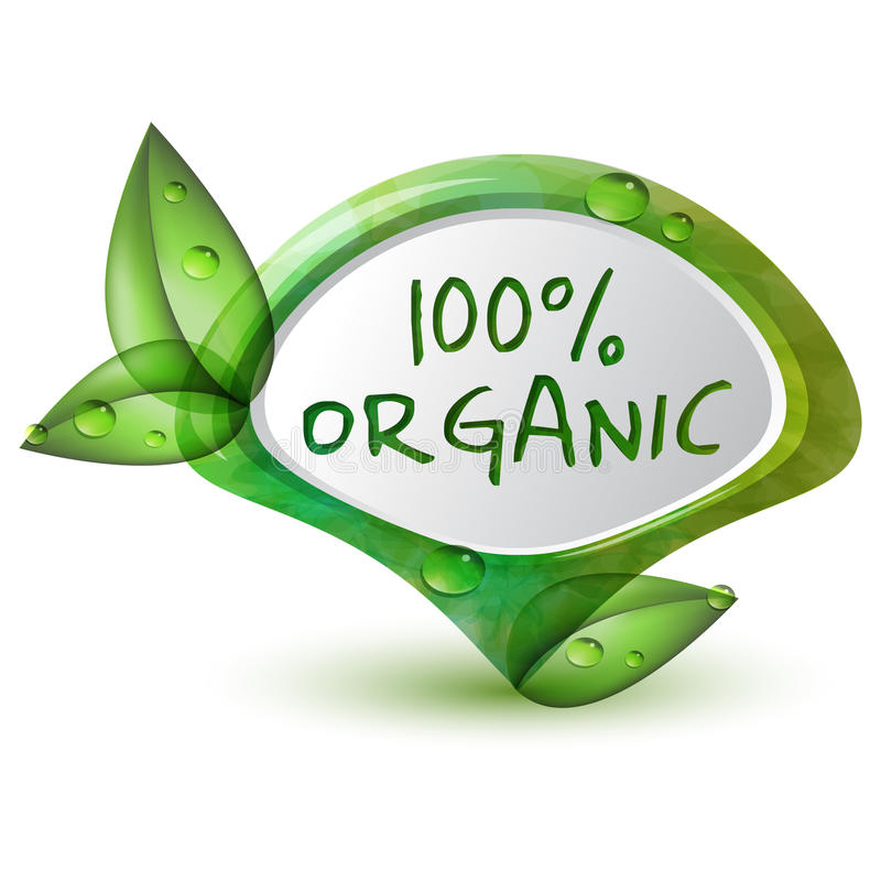 Orgânico ilustração stock