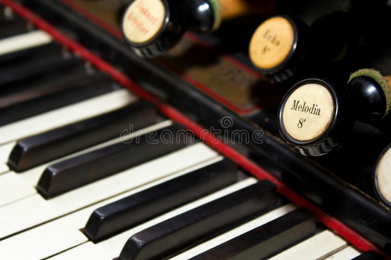 Download Organ keyboard stock image. Image of buttons, sound, melodies - 21442403
