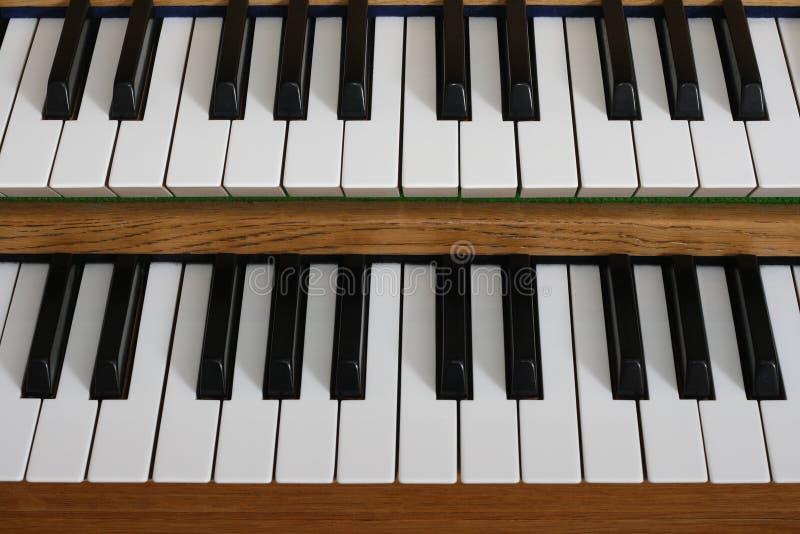 Download Organ manuals stock image. Image of play, array, musical - 4224963