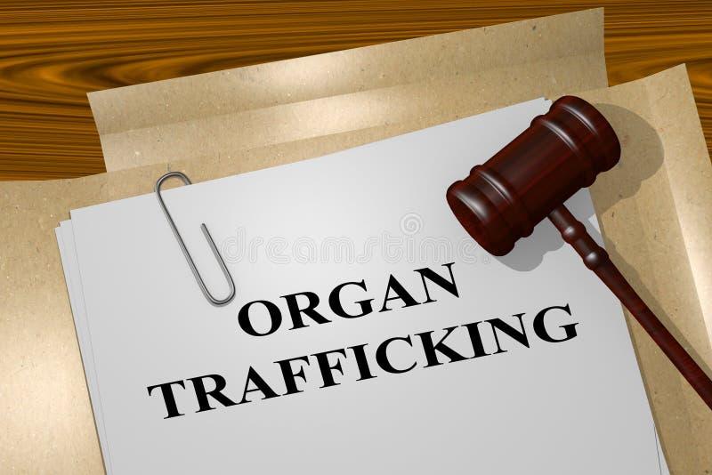 Organ Trafficking concept vector illustration