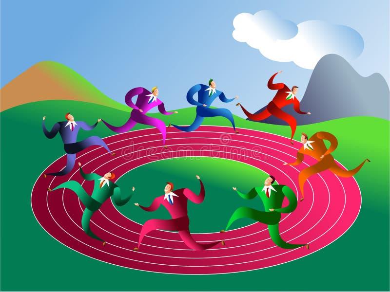 organ wykonawczy wyścig ilustracji