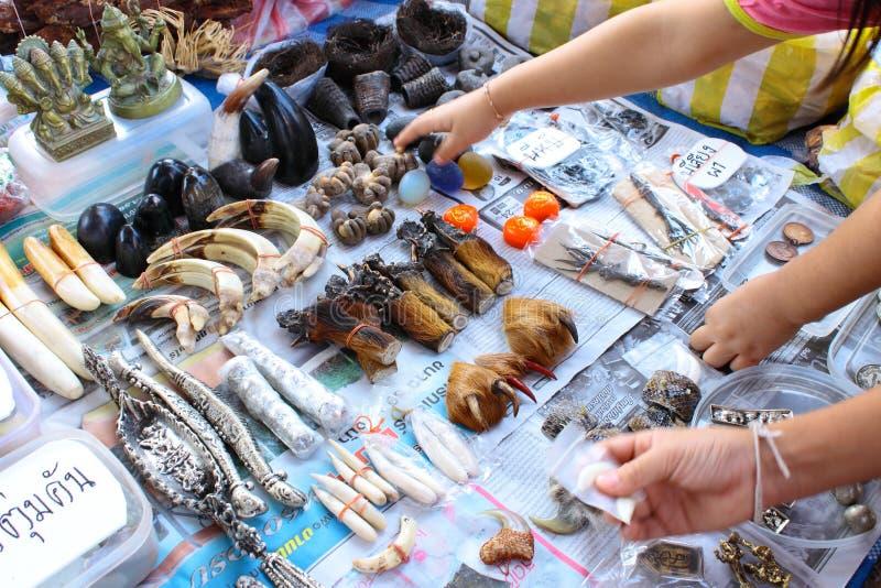 Organe d'animal sauvage sur le commerce image libre de droits