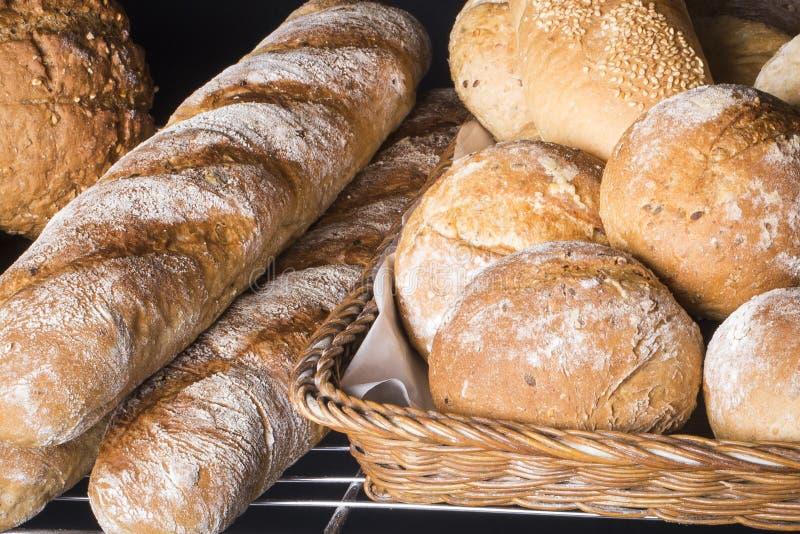 Artisan brown bread royalty free stock photo