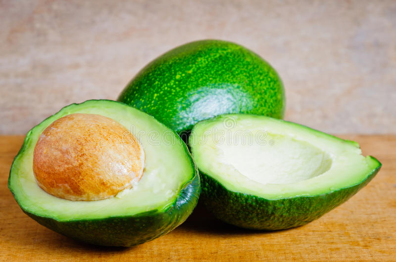 Download Organic avocados stock image. Image of wooden, healthy - 22055477