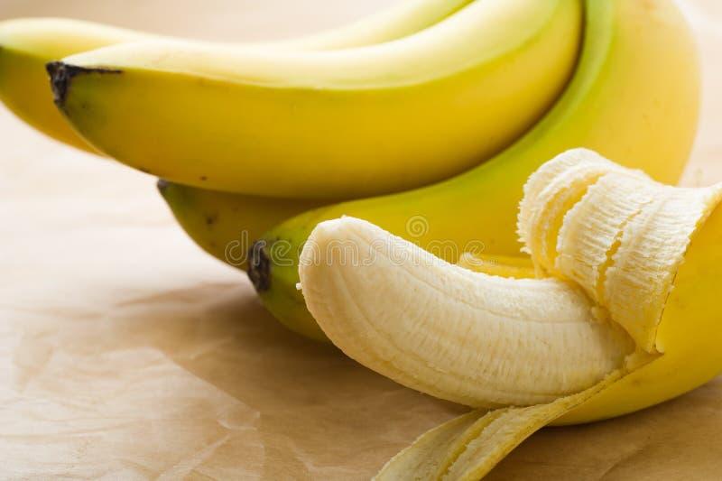 Organic Bananas stock photo