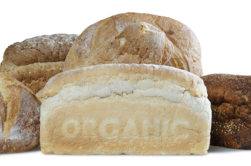 Download Organic bread stock image. Image of crusty, wholemeal - 6093203