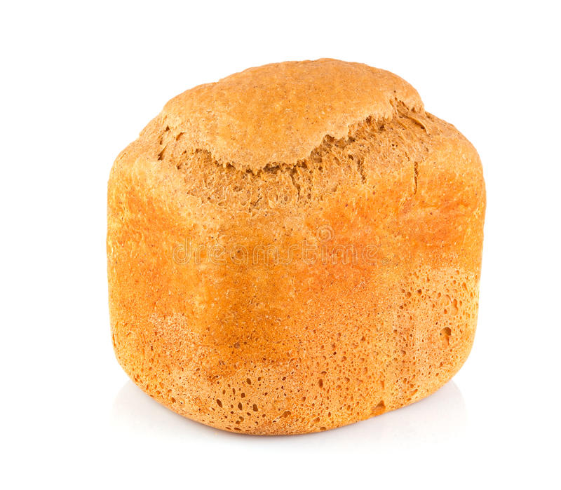Organic bread of bran and malt royalty free stock images
