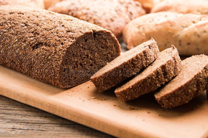 Organic Buckwheat Bread royalty free stock image