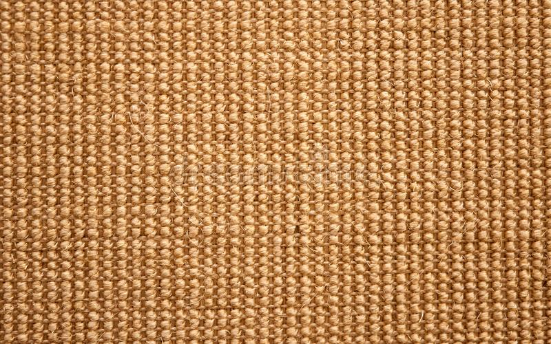 organic carpet from sisal royalty free stock images
