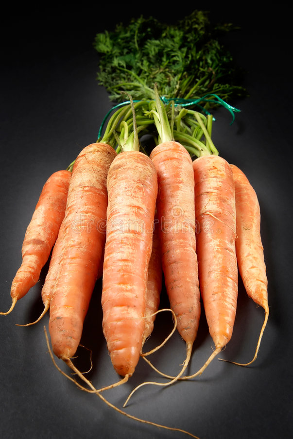 Organic Carrots Royalty Free Stock Photo