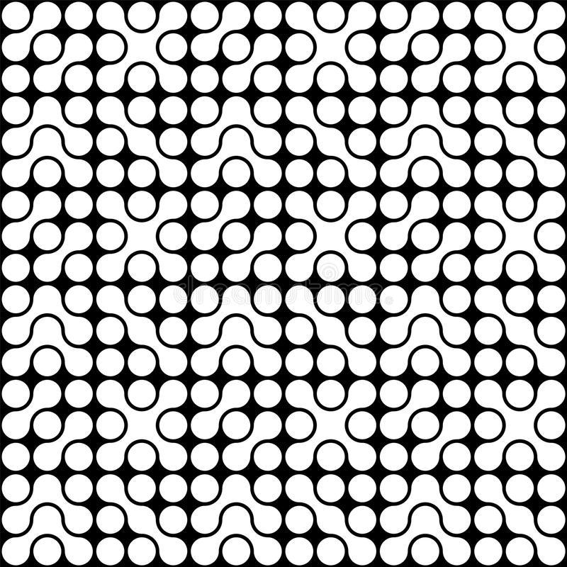 Organic Circle Pattern stock photography