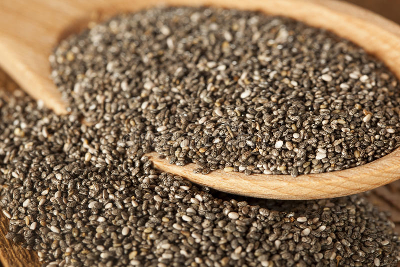 Download Organic Dry Chia Seeds Royalty Free Stock Images - Image: 31596969