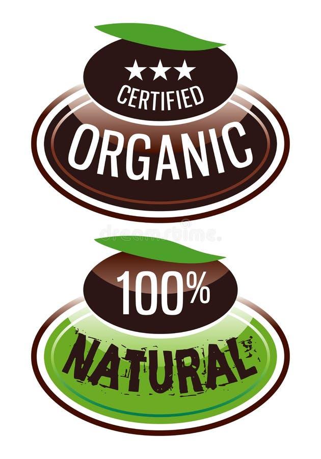 Organic.eps imagem de stock royalty free