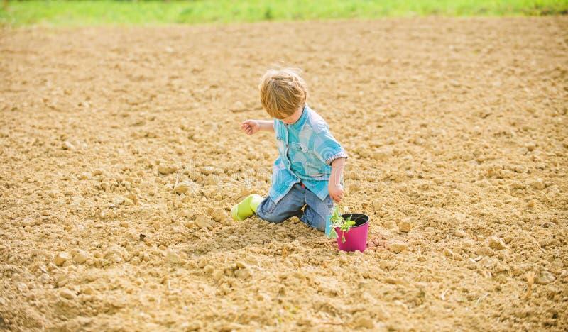 Organic farm. planet protection. ecology life. eco farm. human and nature. earth day. new life. summer farm. happy child. Gardener. plant nursery. Spring season stock photography