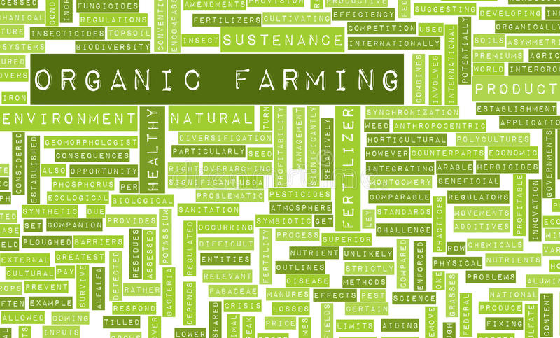 Download Organic Farming stock illustration. Image of future, crop - 18471378