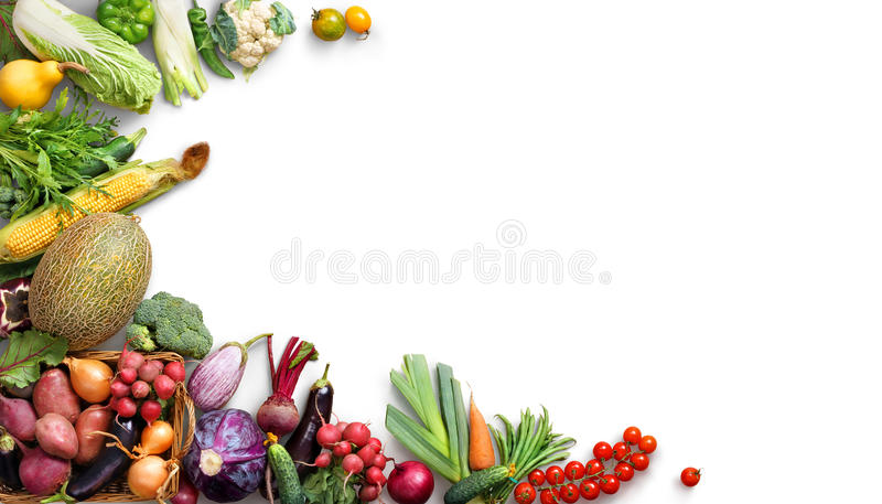 Organic Food Background. Food Photography Different Fruits ...