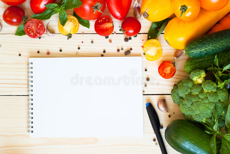 Organic food background royalty free stock photos