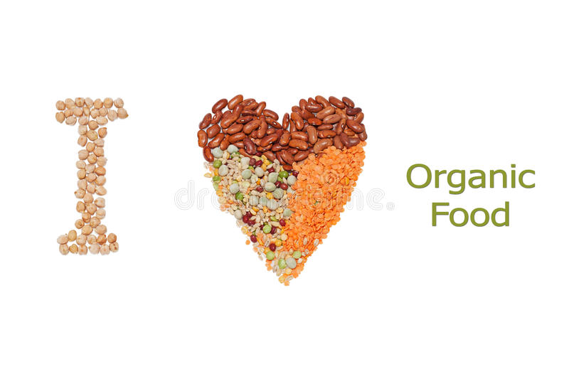 Download Organic Food stock image. Image of conceptual, heart - 38745491