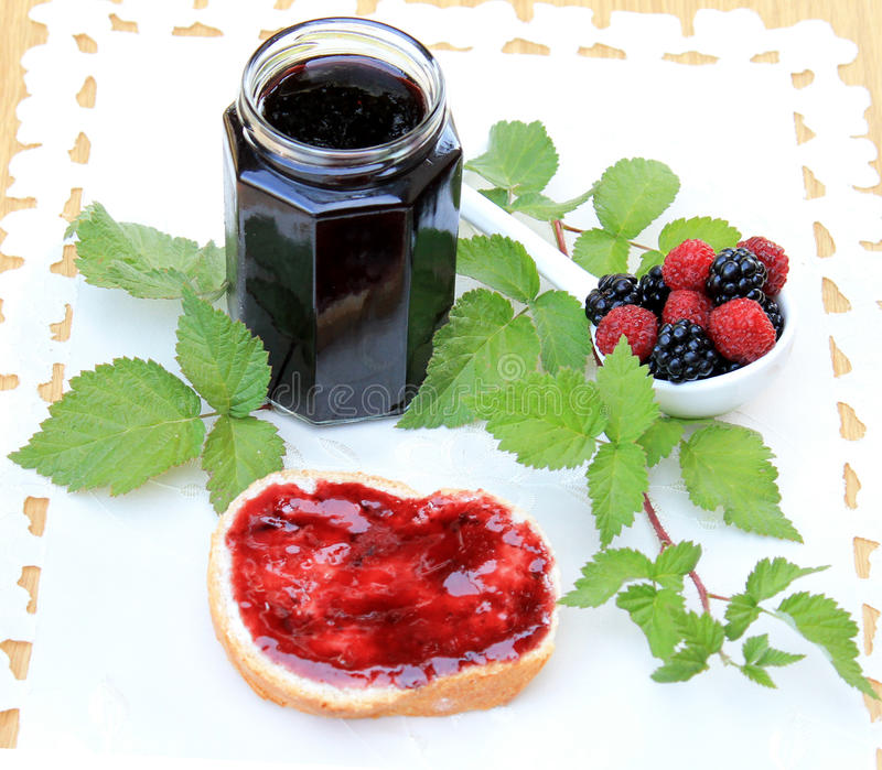 Download Organic fruit marmalade stock image. Image of raspberry - 26577107