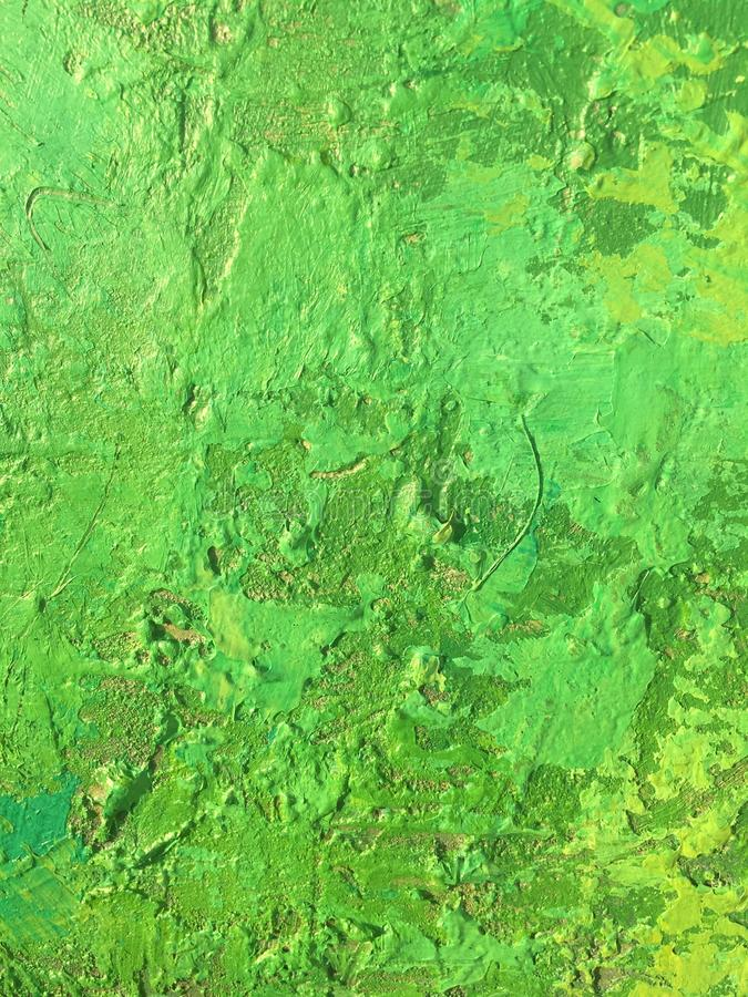 Organic matter summer background with green spring painting texture. Organic matter background with green painting textures for eco shop, organic and bio food stock photos