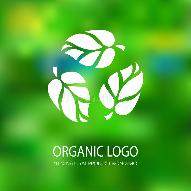 Organic natural product royalty free illustration