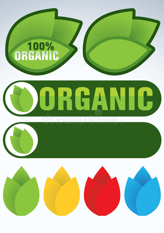 Download Organic and natural symbol stock vector. Image of graphic - 18219971